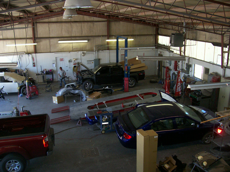 Crown collision center for Crown motors service center